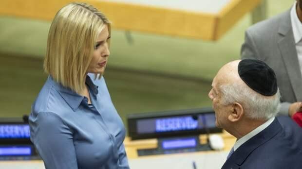 Большие сиськи в маленькой ООН!