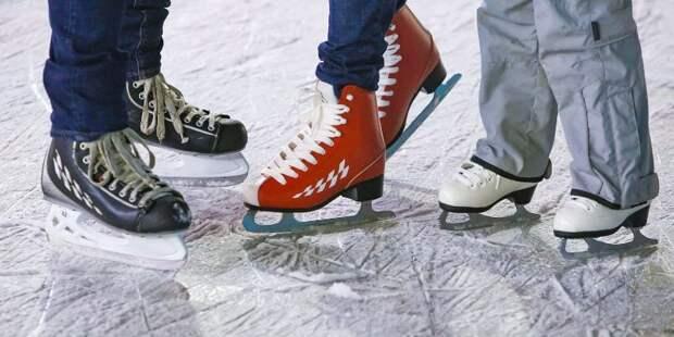 Семьи из Алтуфьева завоевали серебро окружных соревнований по конькобежному спорту