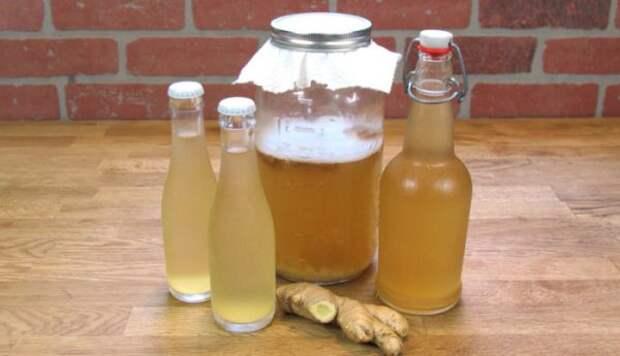 Имбирная вода: самый здоровый напиток, чтобы сжечь весь жир из талии, спины и бедер