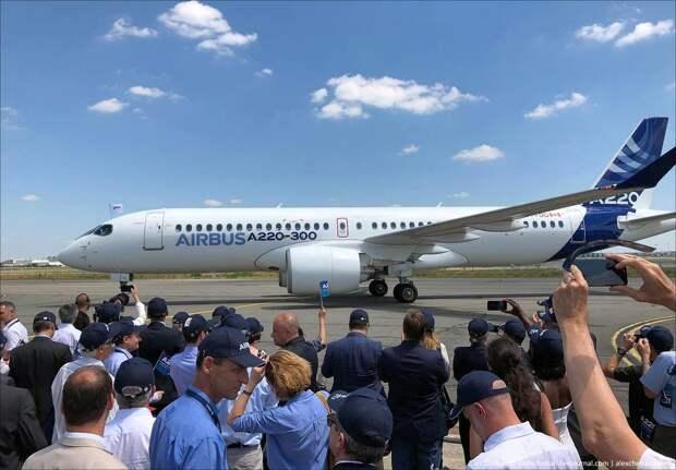 Airbus пополнил модельный ряд двумя новыми самолетами - бывшими Bombardier C-Series