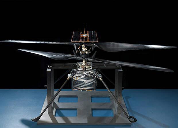 Беспилотник для Марса совершил первый тестовый полет на Земле