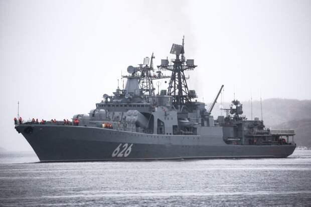 Корабль Северного флота отправится в Алжир