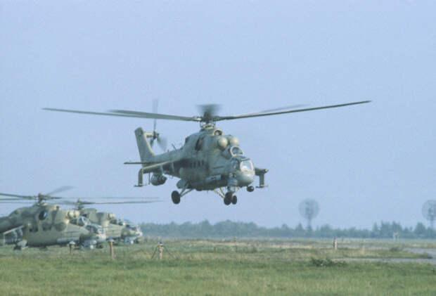 """Ми-24 учения """"Запад-81"""". Фото из интернета"""