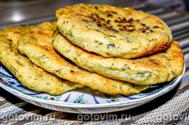 Картофельные лепешки из пюре с укропом и семенами льна  - уютные, ароматные, душевные