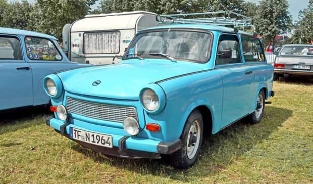 Trabant 601 - народный автомобиль из ГДР trabant, ГДР, авто, машина, ретро, ретроавтомобиль