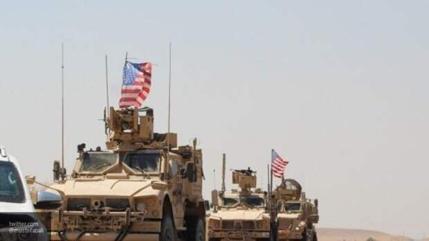 Сирийские военные вынудили американцев развернуть колонну с ворованной нефтью