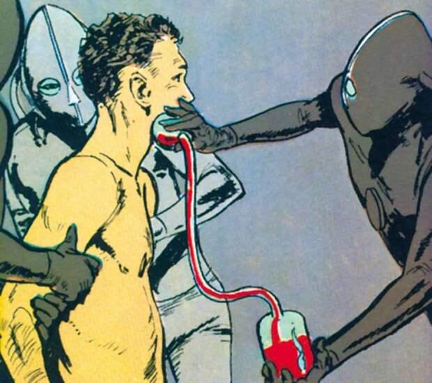Бразильский фермер и инопланетянка-соблазнительница