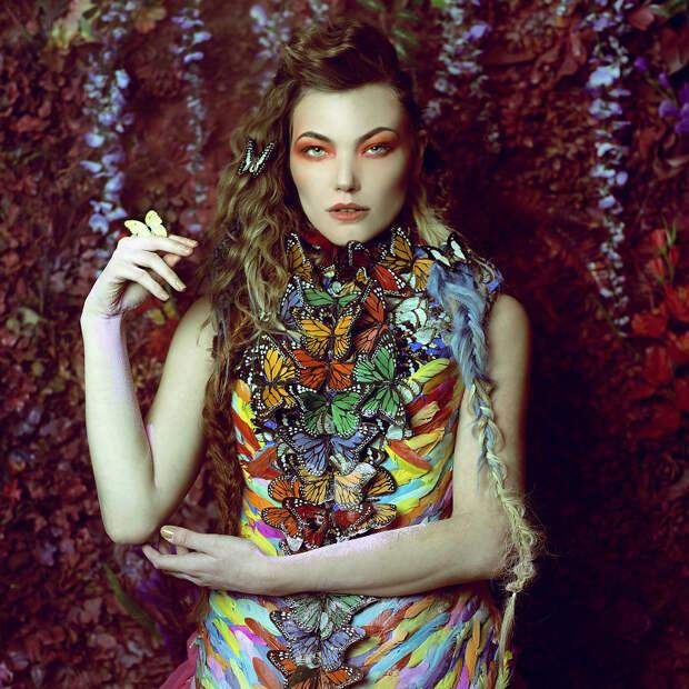 Фотопрект «Таинственный сад». Потрясающие сюрреалистические портреты фотографа Даниэлы Мэджик