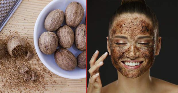 3 маски с мускатным орехом для тонизирования и улучшения цвета кожи