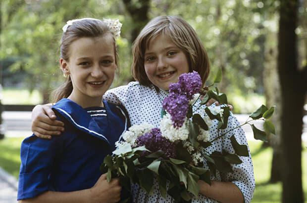 Катя Лычева и ее американская подруга Стар Роу.
