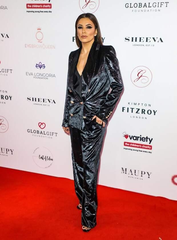 Ева Лонгория  Global Gift Gala at Kimpton Fitzroy  2019
