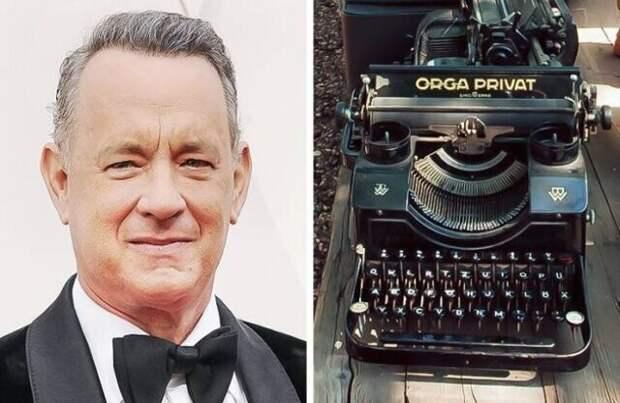 Том Хэнкс коллекциониирует пишущие машинки