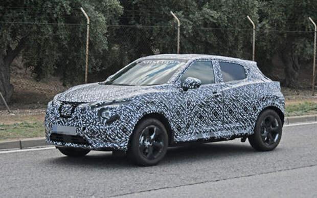 Новый Nissan Juke станет просторнее