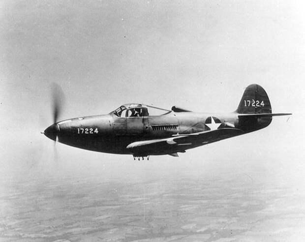 Решение проблем с капотажем: об истории появления и конструкции истребителя Bell P-39 Airacobra