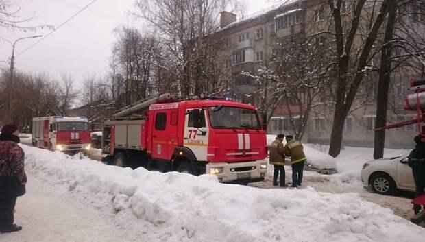 Пожарные потушили возгорание в квартире в Климовске