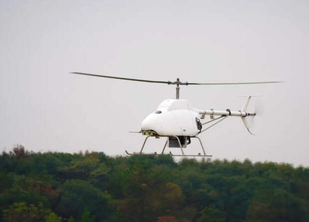 Китайцы начали летные испытания своего первого палубного беспилотного вертолета