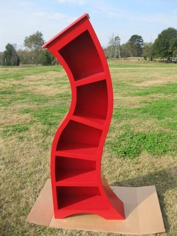 Фантастически странная, но такая милая мебель креативная, кривая, мебель, смешная, странна, фантастическая