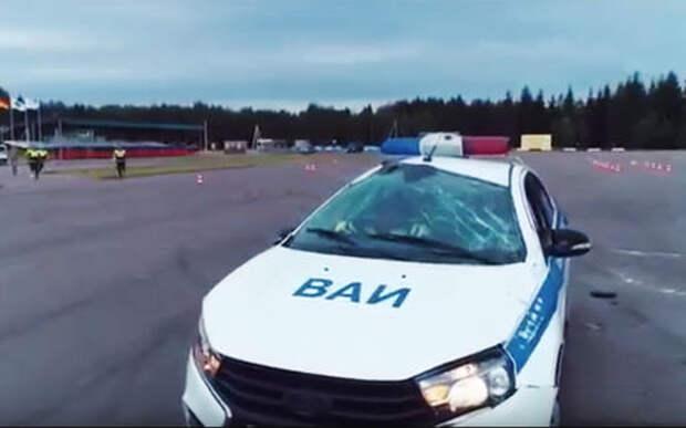 Когда что-то пошло не так: полицейский разворот обернулся «крышей»