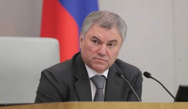 Володин: Беспредел американских соцсетей не должен повториться в России
