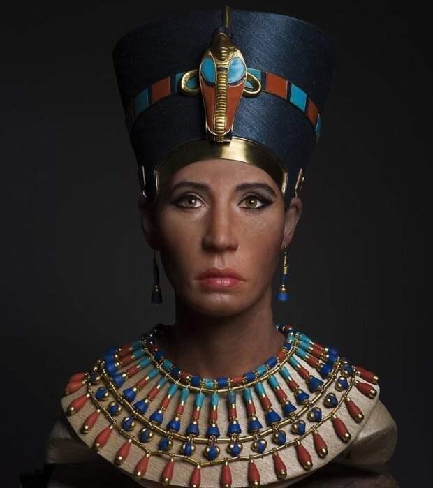 Лицо царицы «Нефертити» восстановили с помощью 3D-сканирования древней мумии 3D-СКАНИРОВАНИЕ, Нефертити, в мире, лицо, люди, мумия, наука