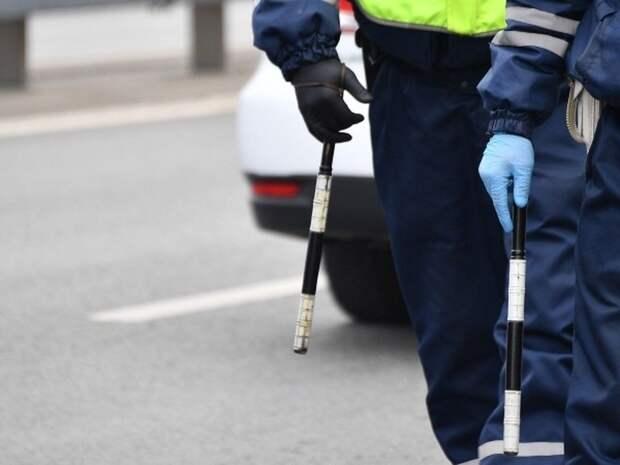 В Красногвардейском районе пьяного водителя ловили с помощью стрельбы