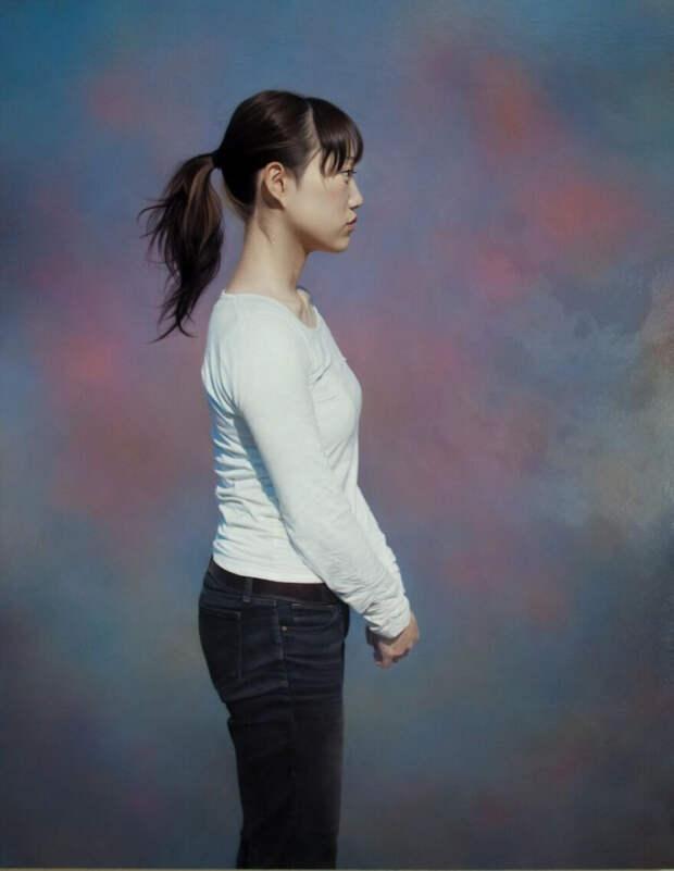 Невероятно реалистичные портреты маслом от японского художника