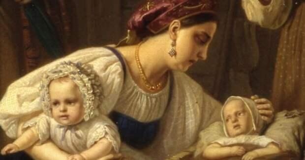 Оплата долга ребенком и карьера при дворе: Как жилось кормилицам в разные эпохи