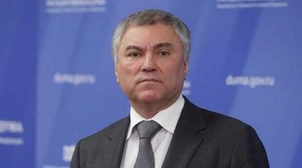 Володин предложил ПАСЕ включить в повестку вопросы по защите здоровья европейцев