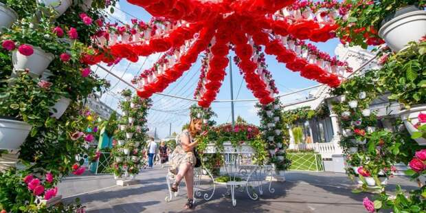 Собянин: Фестиваль «Цветочный джем» в Москве начнется 1 сентября. Фото: Ю. Иванко mos.ru
