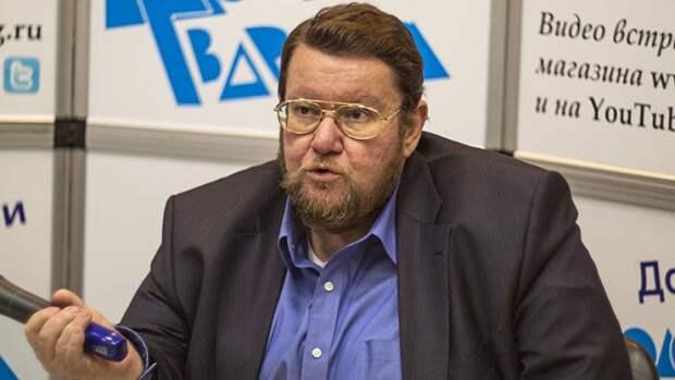 Сатановский возмутился неадекватным Западом: в большом взрыве тоже РФ виновата