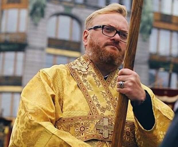 Милонов выступил против остановки в Москве поезда Севастополь-Петербург