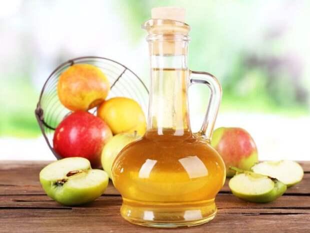 Лечение заболеваний яблочным уксусом