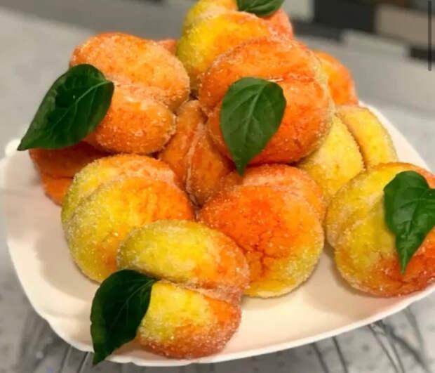 """""""Персики""""! Пирожное из детства! Что может быть вкуснее домашнего десерта! Все будут в восторге!"""