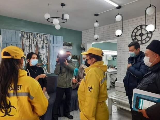 Несколько салонов красоты в Шымкенте оштрафованы за несоблюдение санитарных мер