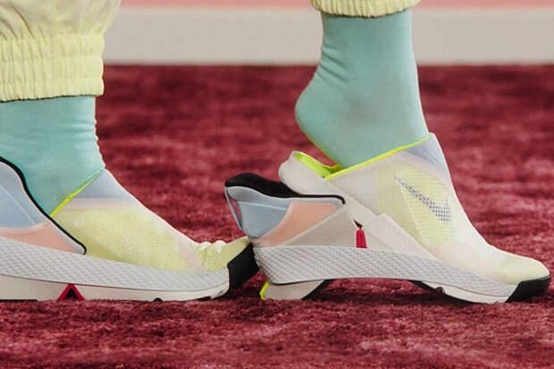 Nike представит не приносящие неудобств при снятии и надевании кроссовки