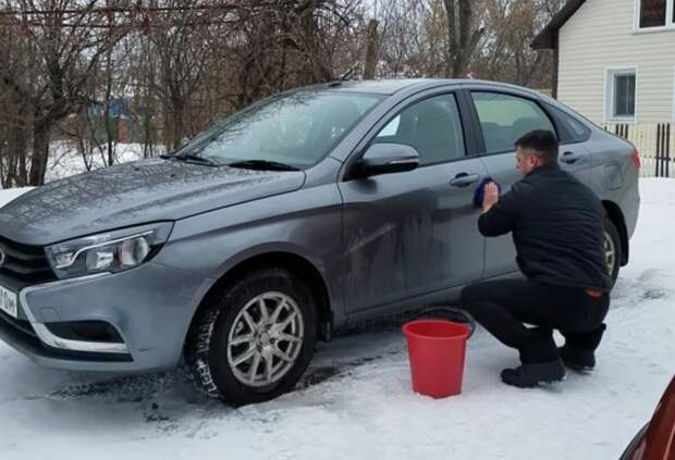 Несколько правил мойки автомобиля в зимний период. Поделился опытом бывалый автомойщик