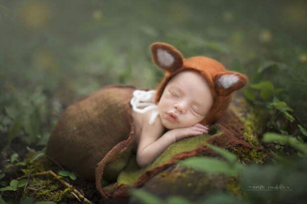 Чудесные фотографии маленьких детей: волшебство, которое видит только мама