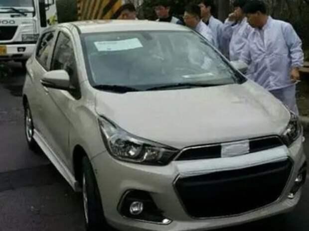 Новый Chevrolet Spark запечатлели без камуфляжа