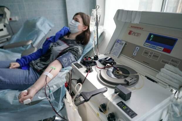 Плазму в Москве можно сдать в одном из четырех пунктов переливания крови / Фото: mos.ru