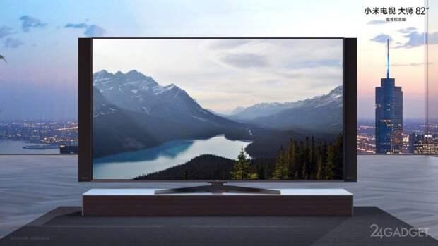 Представлена новая линейка 82-дюймовых телевизоров Xiaomi с разрешением 8К и поддержкой 5G