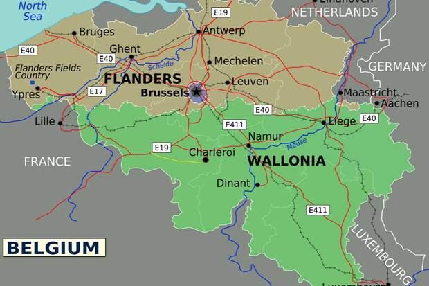 Сепар голландский - глава Антверпена предложил отдать север Бельгии Нидерландам