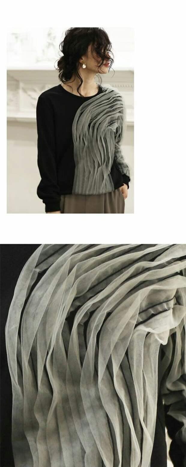 Вставки тюли