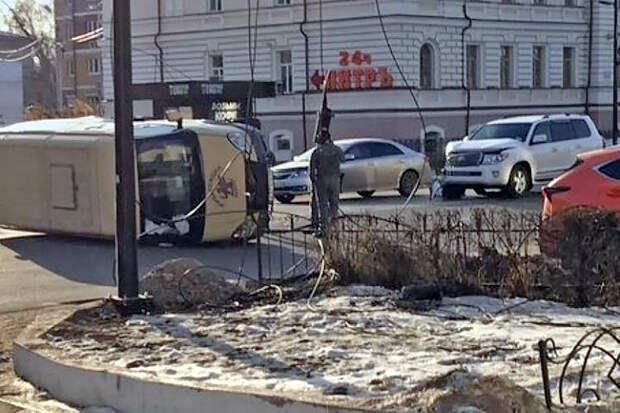 Сын российского министра протаранил на джипе инкассаторов