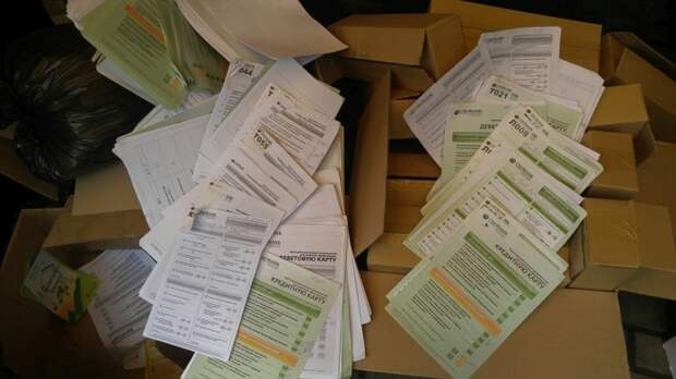 Анкеты с данными клиентов Сбербанка оказались на мусорке