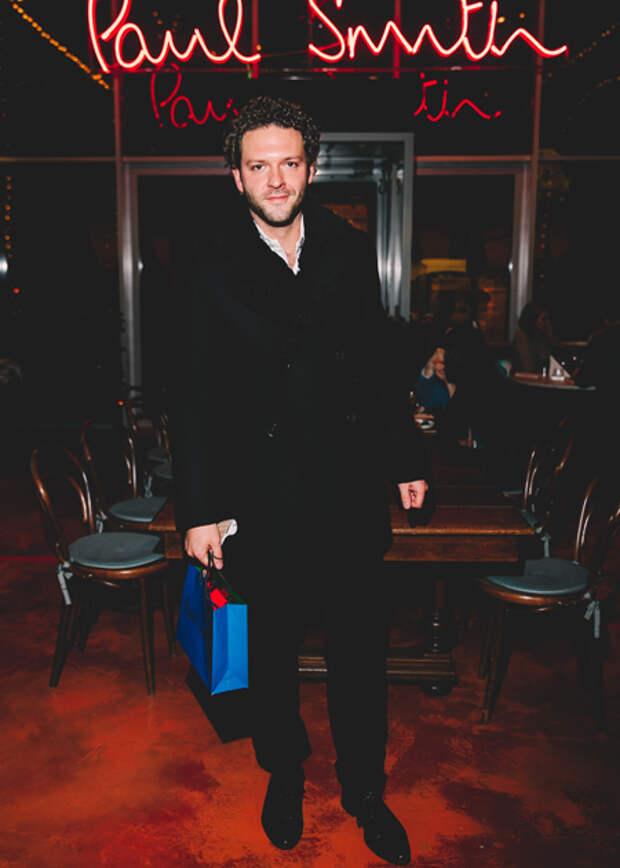 Александр Цыпкин, Ингеборга Дапкунайте, Андрей Бурковский и другие на ужине Paul Smith