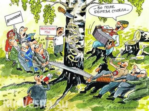Клинические либералы и тупые патриоты друг друга стоят и равно чужды России