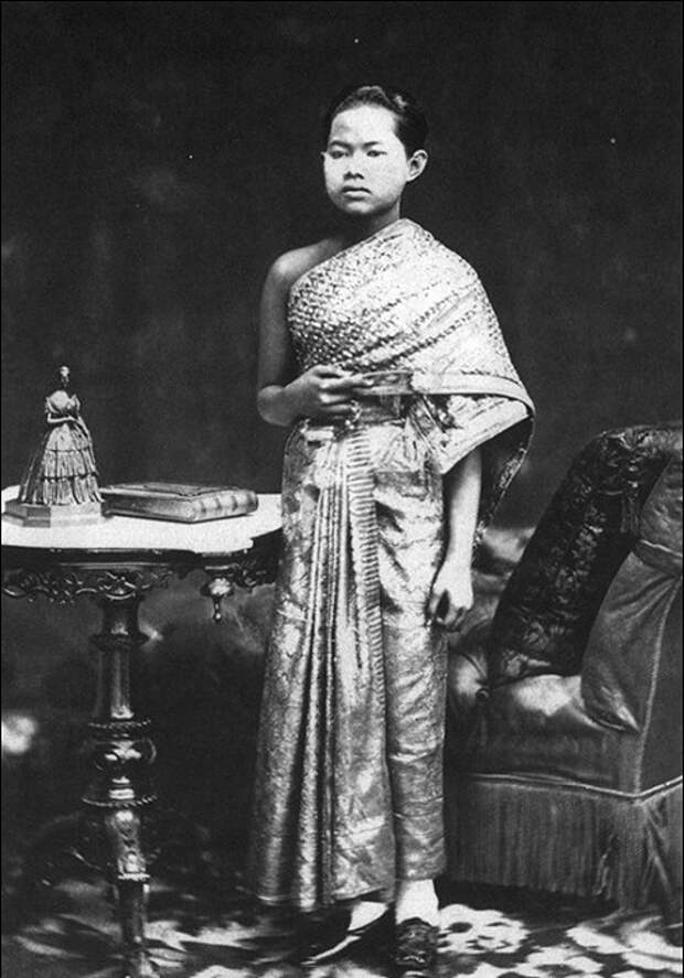 Королева Сунанда Кумарираттана, жена короля Сиама Рама V.   Фото: storyfiles.blogspot.ru.