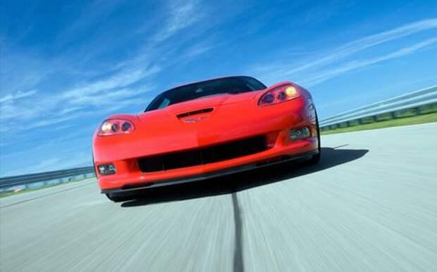 Красиво живут - Chevrolet Corvette списали из-за трещины