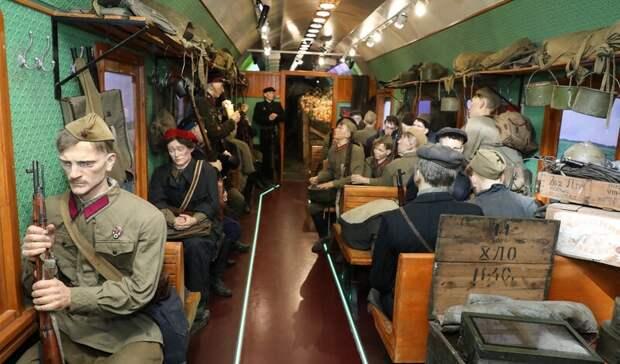 Первая вмире: передвижная выставка «Поезд Победы» заработала вНижнем Новгороде