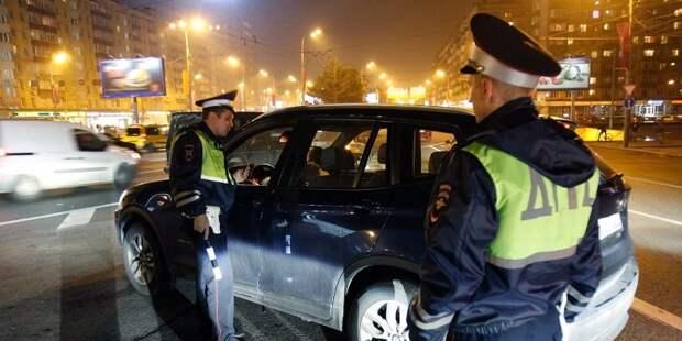 Почти триста пьяных водителей задержали на московских дорогах в 2016 году